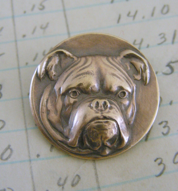 vintage brooch bulldog jewelry vintage by chloesvintagejewelry
