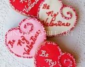 Be My Valentine Cookie (1 Dozen)