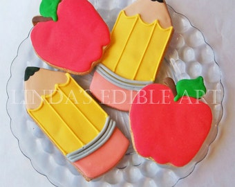 Back to School Cookies (1 Dozen)
