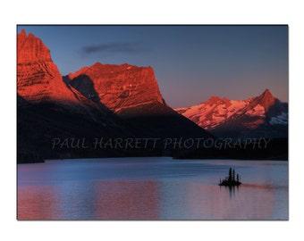 Photo Art -  Landscapape Phototgraphy - Glacier Naional Park - Fine Art Photography- 11 x14 -  Prints