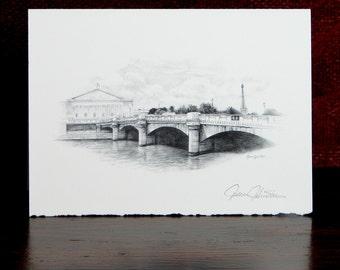 Paris Bridge - Artist Card
