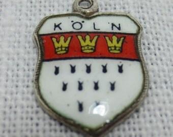 Koln Germany Silver 800 Charm or Pendant