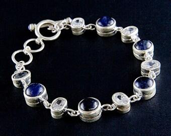 Vintage Iolite Bracelet