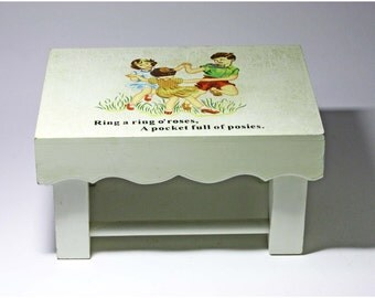 Vintage Children's Step Stool