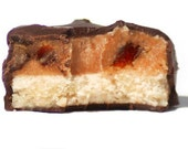 Gourmet Stick Toffee Candy Bar made with Handcrafted Shortbread and Homemade Caramel - Gift Box of 3