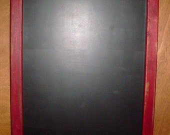 Handcrafted Chalkboard American Pioneer Primitive Antique Style LARGE
