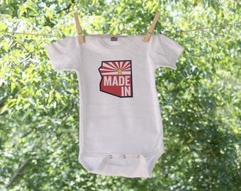 Made in Arizona - Arizona State Infant Bodysuit