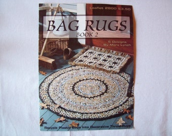 Crochet Pattern Round Rug Etsy