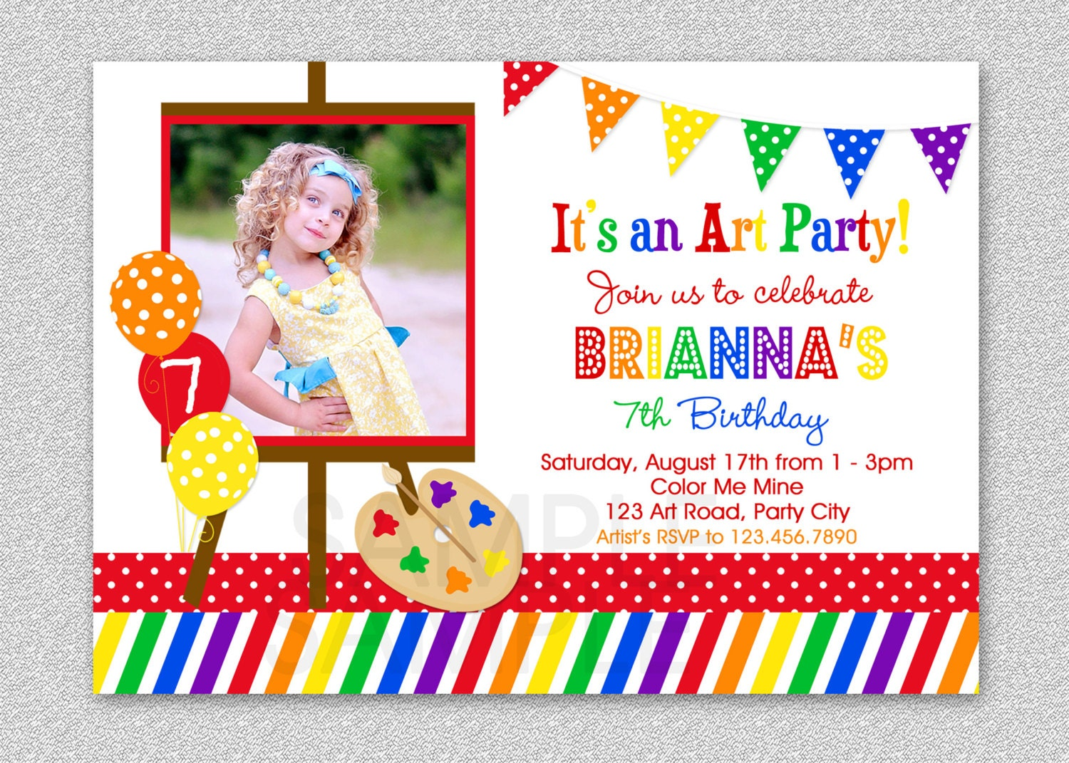 Pottery Painting Birthday Party Invitations as luxury invitations ideas
