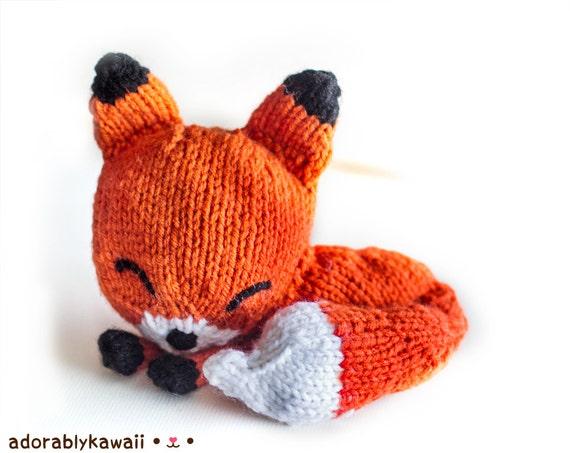 Knit Ball Cat Toy Pattern