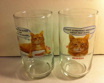Pair of Vintage Morris 9 Lives Glasses