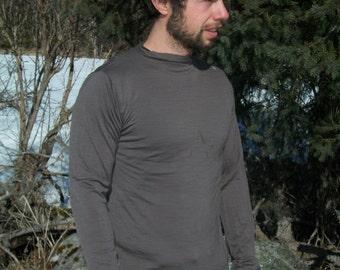 Men's Merino Wool Winter Shirt