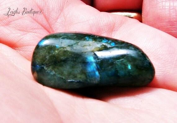 Labradorite Tumbled Stones Set of 2