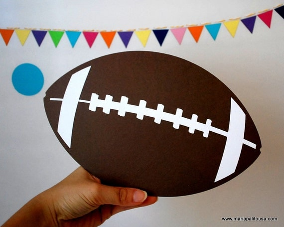 Football Die cut, ball die cut A862