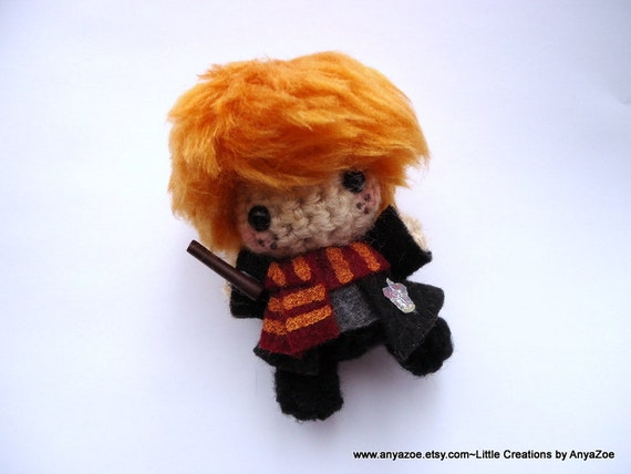 Amigurumi Askina Etsy : Items similar to Ron Weasley Amigurumi on Etsy
