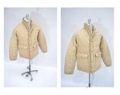 vintage puffy jacket JACKSON HOLE indie medium med m