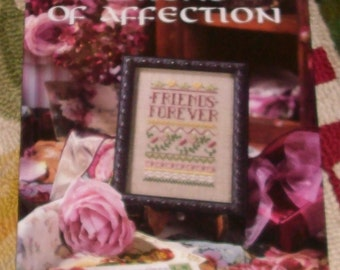 Tokens of Affection by Liesure Arts Publcations- Needlepoint patterns