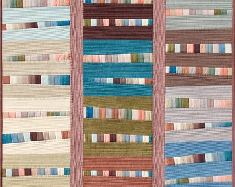 Local Color: New Mexico Art Quilt Fiber Art Wallhanging