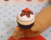 Miniature Sundae Cupcake for American Girls 1:3