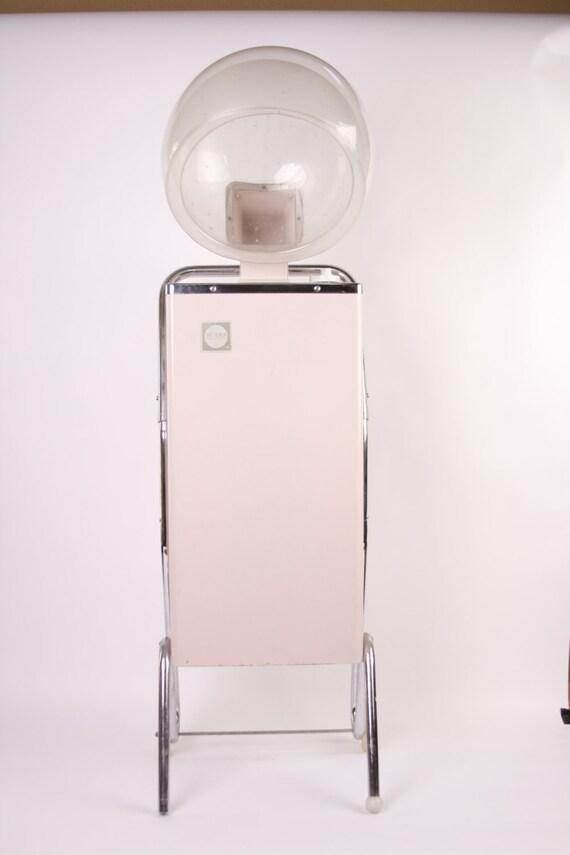 Pink Hair Dryer ~ Professional hair dryer pink diffuser vintage