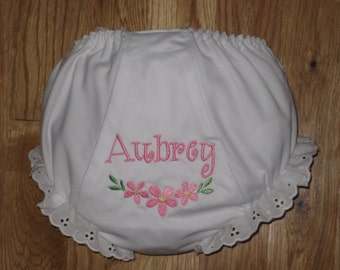 Personalized Diaper Cover