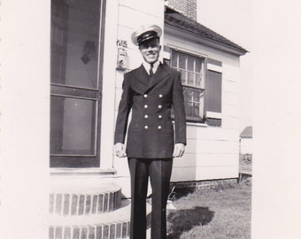 Man in Uniform - Vintage Photograph (1B)