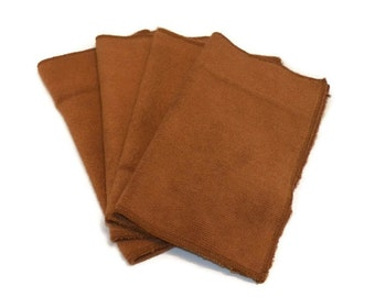 Microfiber Swiffer Sweeper Pads- Set of 2- BROWN- Refill- Reusable- Ecofriendly