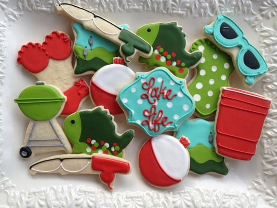 Summertime Fun on the Lake Sugar Cookie Collection