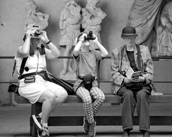 Photographers in Rome Fine Photographic Print