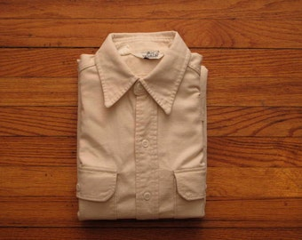 mens vintage Woolrich canvas shirt