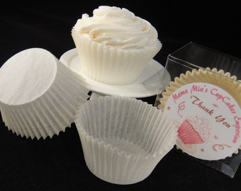 Ivory/Cream Cupcake Liners