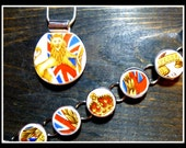 CUSTOM Made Recycled HEIRLOOM CHINA Plate Jewelry - Reserved for Mari