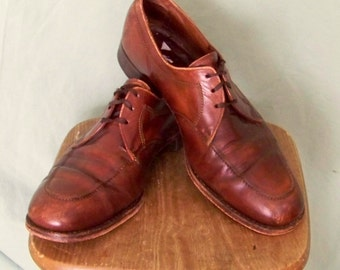 70s Chocolate/Caramel Ombre  Florsheim Imperial 10B