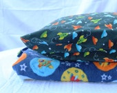 SALE! Space Blanket and Pillowcase
