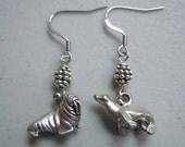 Walrus and Sea Lion - Sea Buddies Earrings,