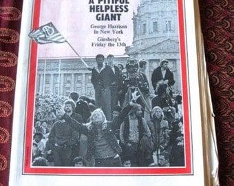 Original Rolling Stone Magazine Issue 60 Beatles Allen Ginsberg 1970