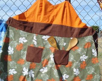 "Handmade Apron-""Autumn Joy"""