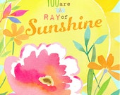 Ray of Sunshine Art Print