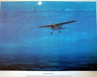 1964 Jerrie Mock Woman Women Pilot Aviator Columbus Ohio World Solo