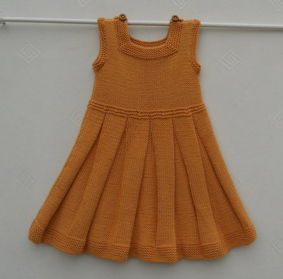Dress Or Pinafore Tunic For A Baby Girl Or Toddlerhand