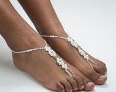 Bridal Jewelry Barefoot Sandals Destination Wedding Foot Jewelry Beach Wedding