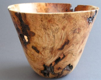 Wild Black Cherry Burl Bowl