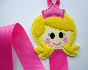 Princess Hair Clip Holder, Pink Dress Princess Hair Clip Organizer, Hair Accessories Organizer, Hair Clip Display