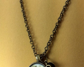 Downtown Abbey Necklace Pendant