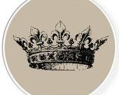 Instant download,Free shipping,Cross stitch pattern, Crossstitch PDF/JPEG,vintage crown pattern, cross stitch pillow pattern,zxxc0408