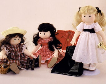 Seasons Easy to Sew Doll Pattern Carolee Creations