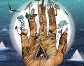 Stargate // Signed A4 print