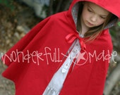 Little Red Riding Hood Cape Costume