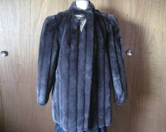 1940 Style Faux Fur Coat