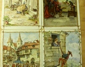 Tasha Tudor Fairy Tale Puzzles Box Set - Platt & Munk 1963 - Vintage